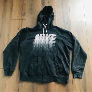 Nike Club Fleece Power Stack Zip Up Hoodie